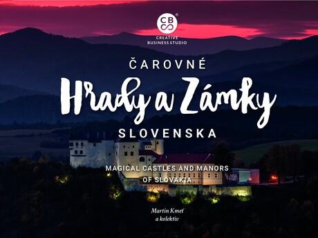 kniha Čarovné hrady a zámky Slovenska, autor CBS