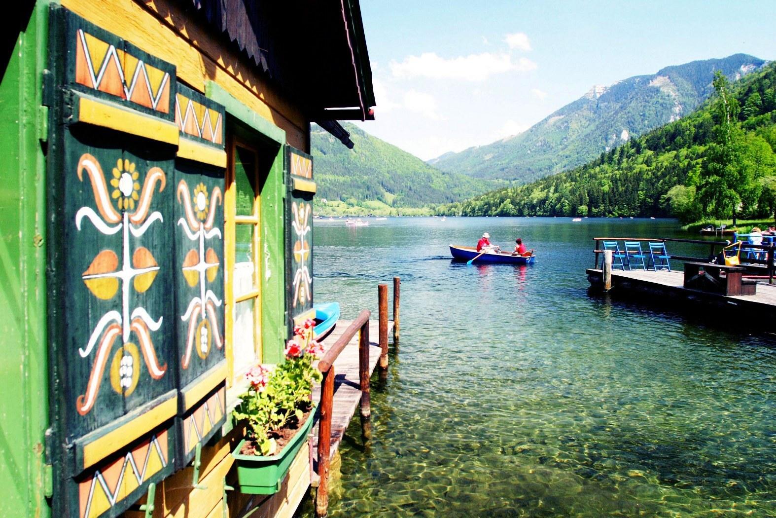 Озеро Лунцер Зее; (c) Mostviertel Tourismus / weinfranz.at