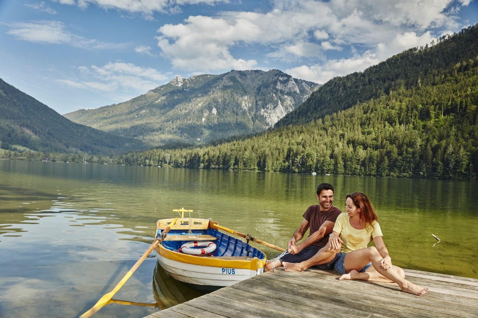 jezero Lunzer See; (c) Niederösterreich Werbung / Michael Liebert