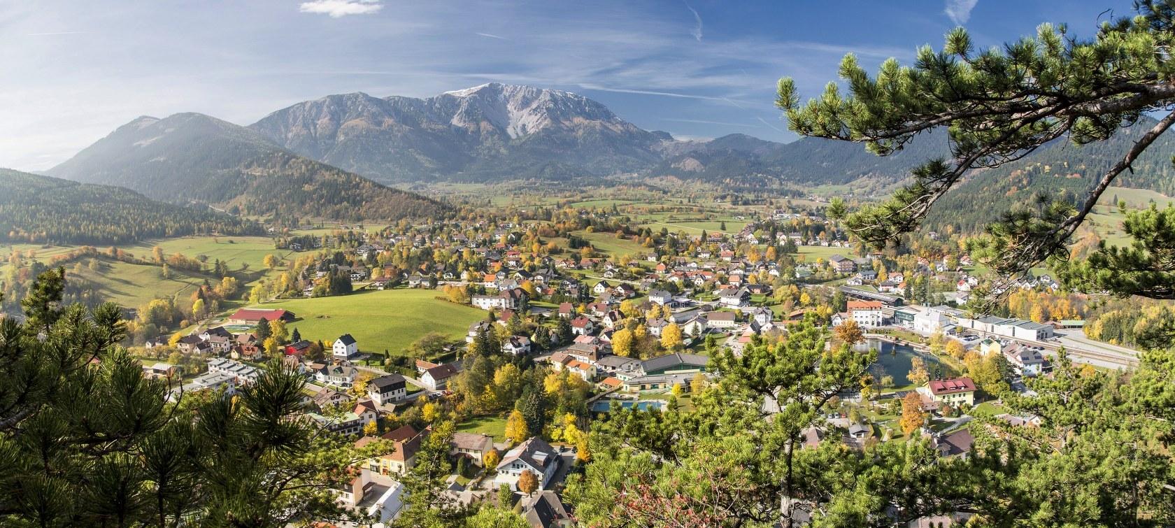 вид на Пухберг; (c) Wiener Alpen / Franz Zwickl