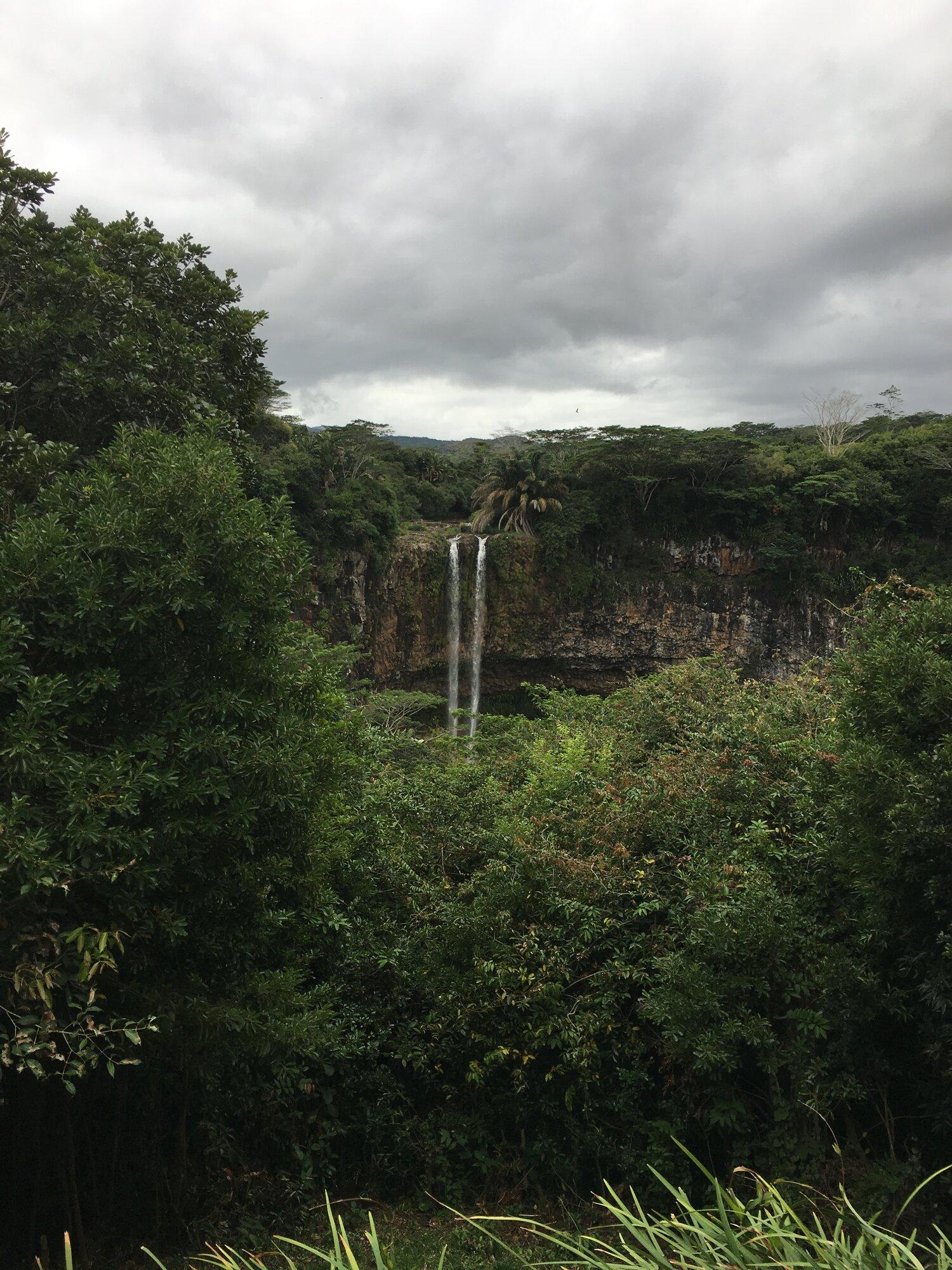vodopád Chamarel