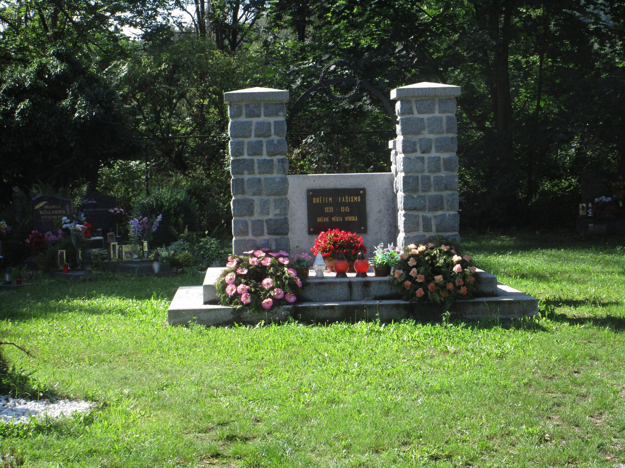 pomník obětěm holocaustu
