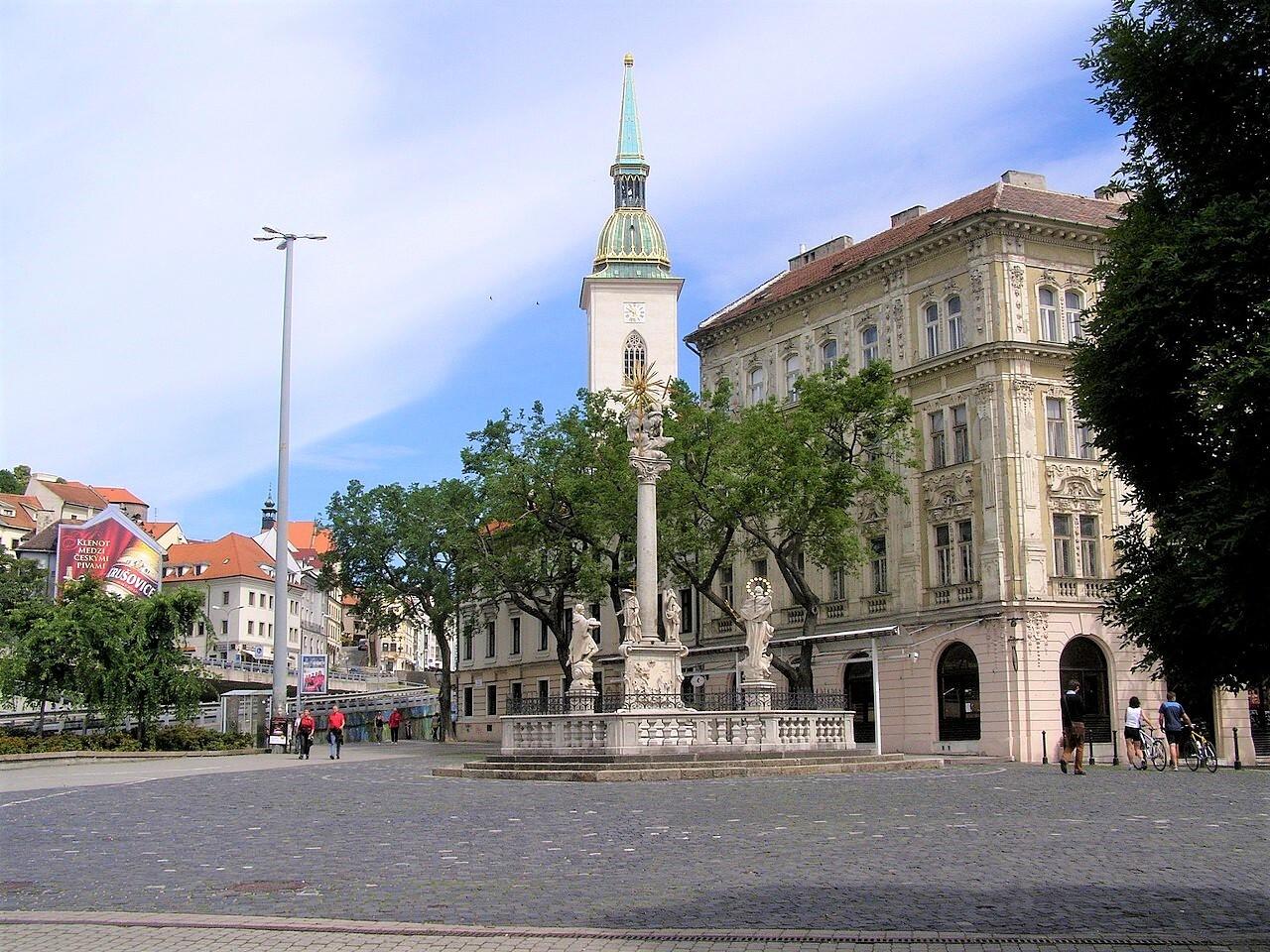 Братислава, Рыбная площадь; (c) Wikipedia.org - Lure