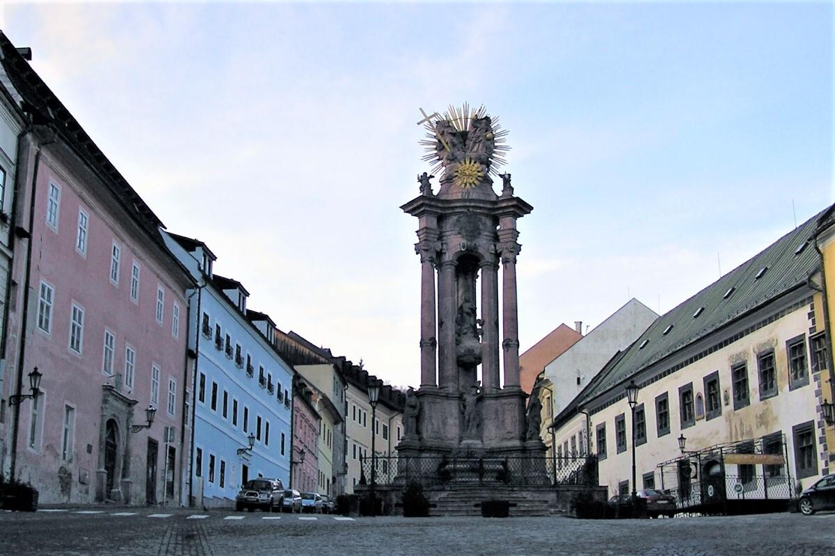 trojiční sloup, Banská Štiavnica; (c) Mgr. Anna Nociarová