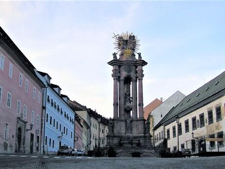 Trojičný stĺp, Banská Štiavnica; (c) Mgr. Anna Nociarová