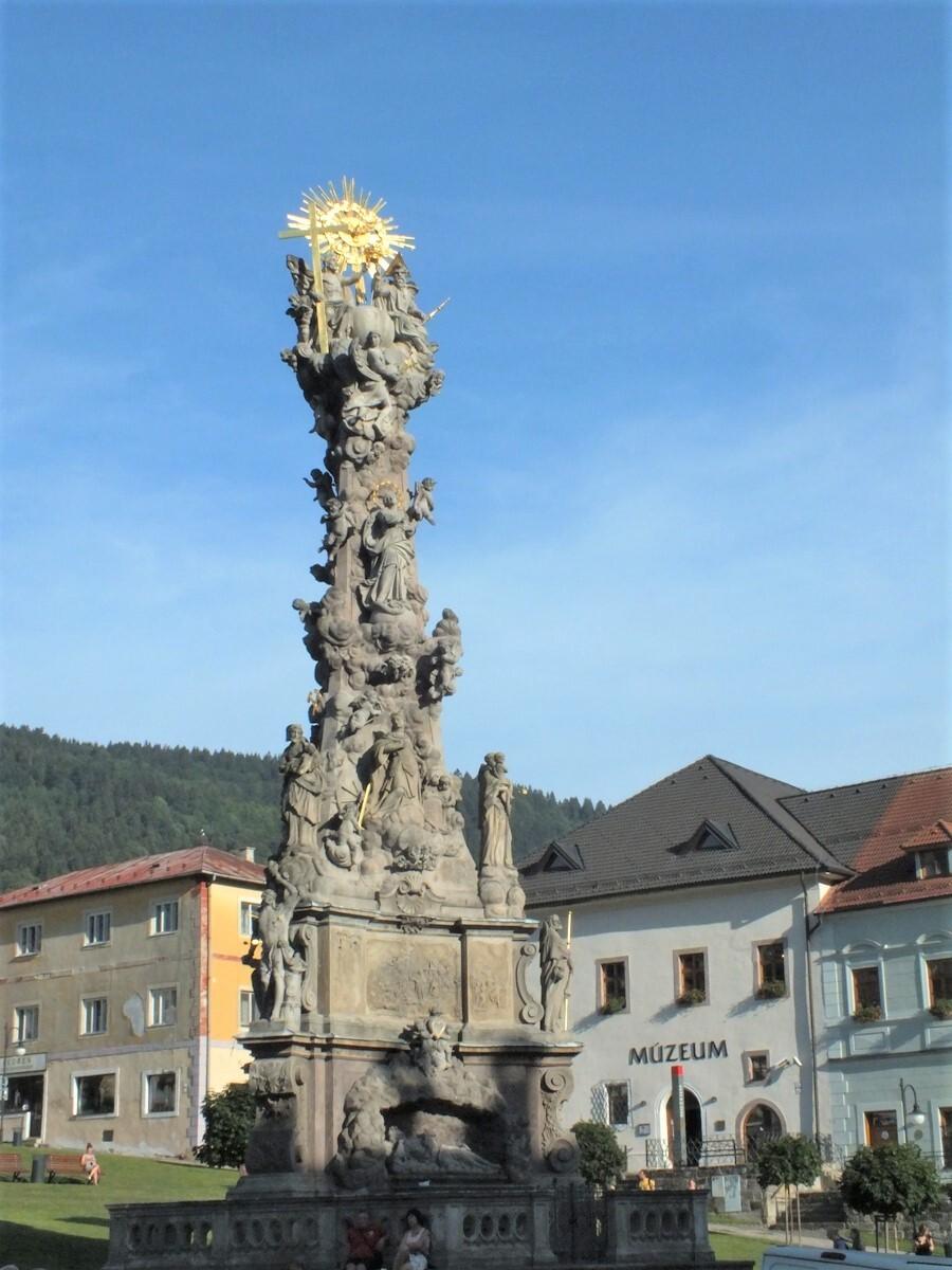 Trojičný stĺp, Kremnica; (c) Mgr. Anna Nociarová