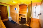 Sauna v penzionu Adélka