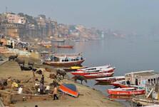 pravý breh rieky Gangy