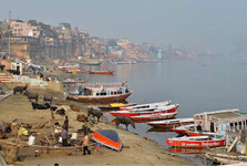 правый берег реки Ганг
