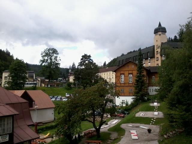 Янске-Лазне, центр