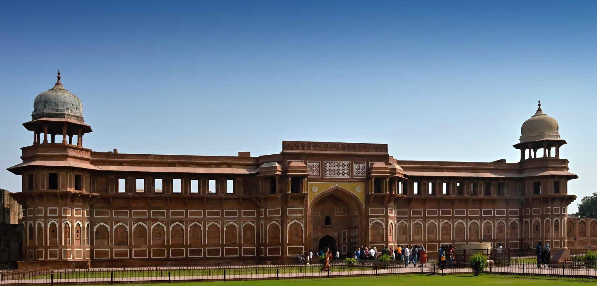 palác Jahangiri Mahal sloužil jako zámek pro ženy