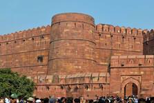 vstupná brána Amar Singh do pevnosti