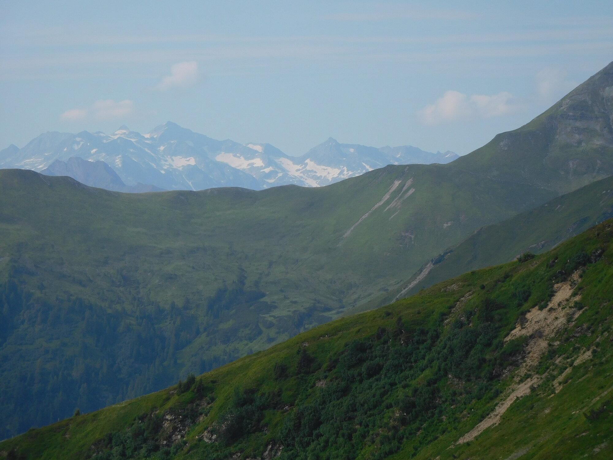 výhled ze Schattbergu