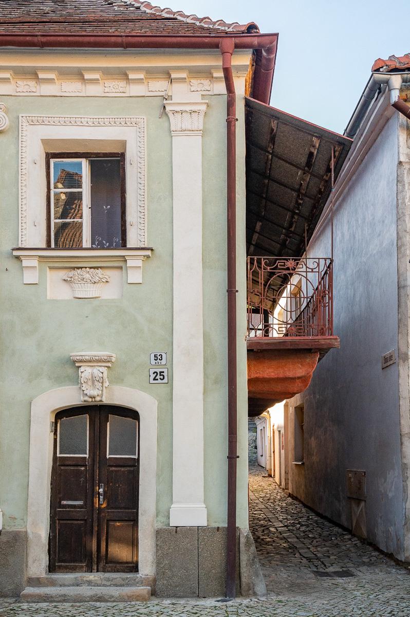 jeden z židovských domů