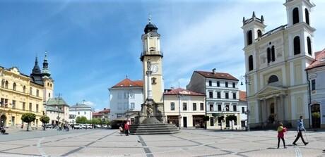 Námestie SNP, Banská Bystrica; (c) Mgr. Anna Nociarová