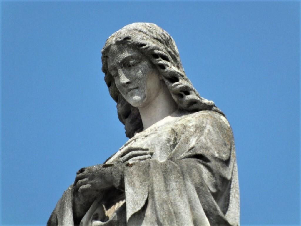 марианская чумная колонна, Банска-Быстрица (деталь); (c) Анна Ноциарова