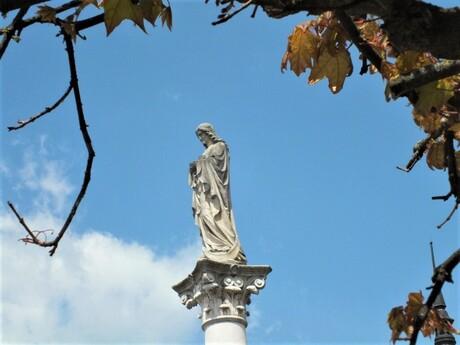 Mariánsky mórovy stĺp, Banská Bystrica (detail); (c) Mgr. Anna Nociarová