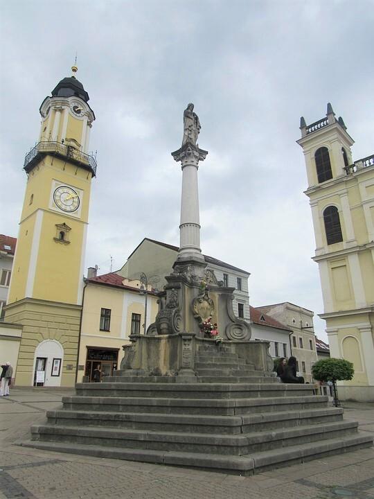 Námestie SNP, Banská Bystrica; (c) Pixabay.com