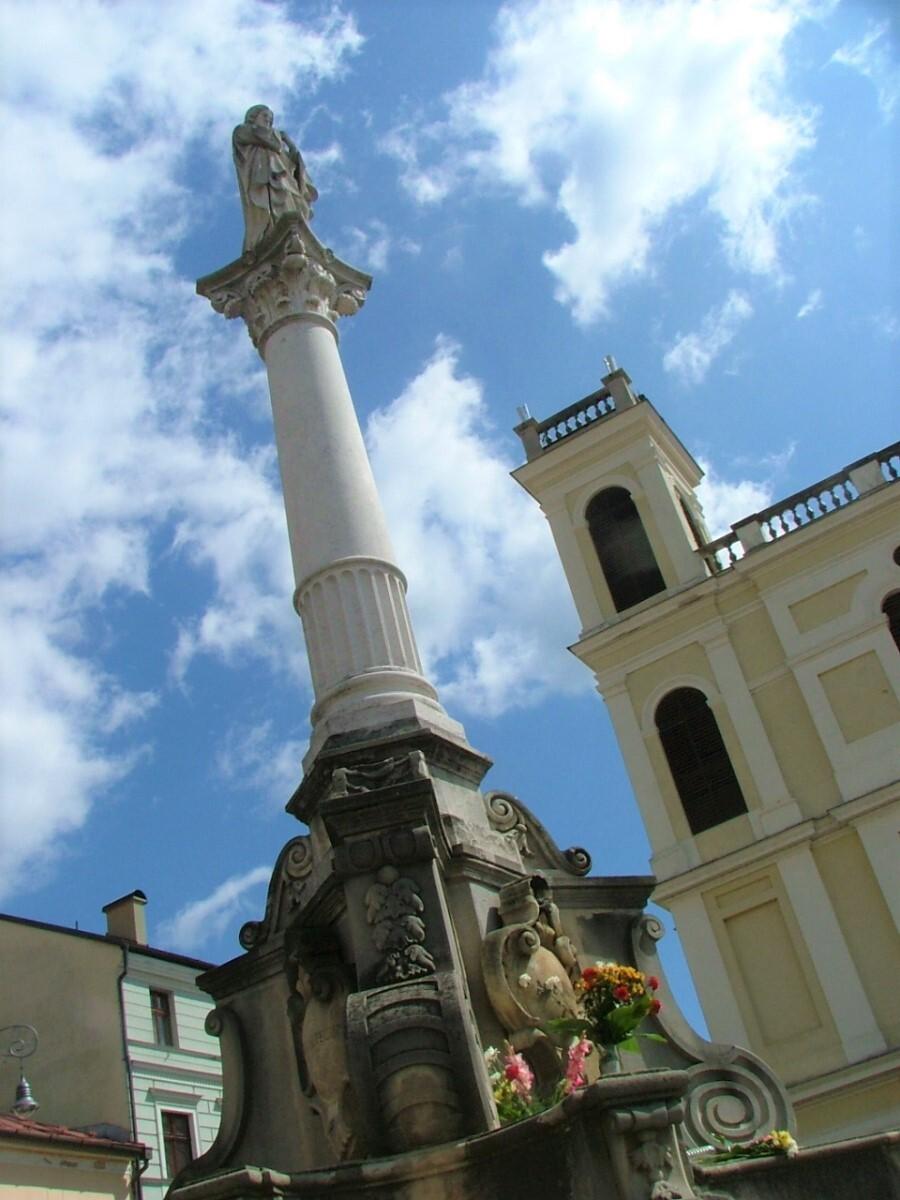 Марианская колонна, Банска-Быстрица; (c) Анна Ноциарова