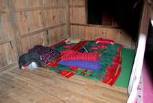 spaní v klášteře je velmi jednoduché