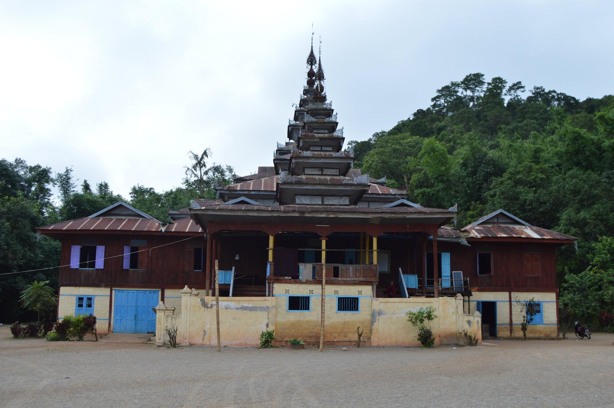 buddhistický klášter