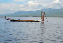 ikonické jezero Inle