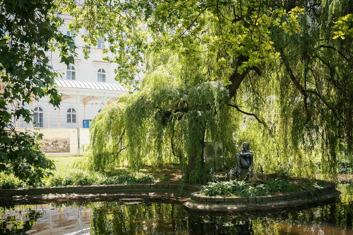 Дворжаковы сады и Садовая колоннада
