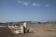 порт в Делосе
