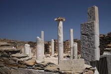 Руины Делоса