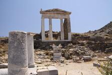 pozůstatky chrámu