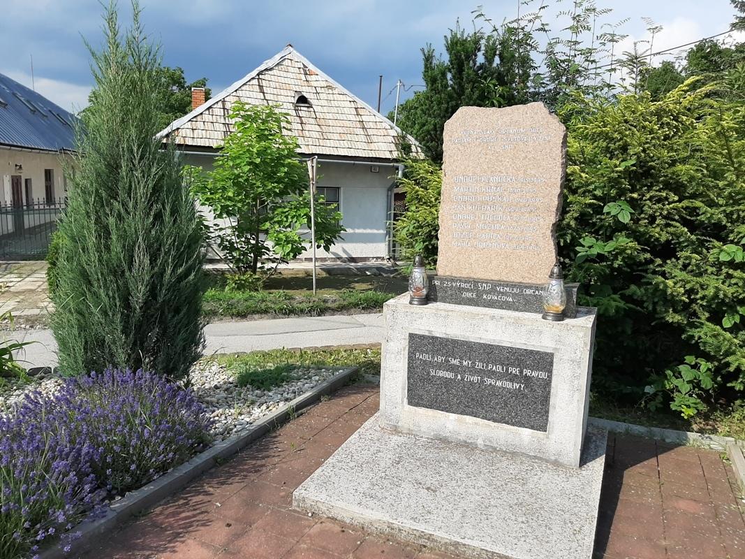 памятник СНВ, Ковачова