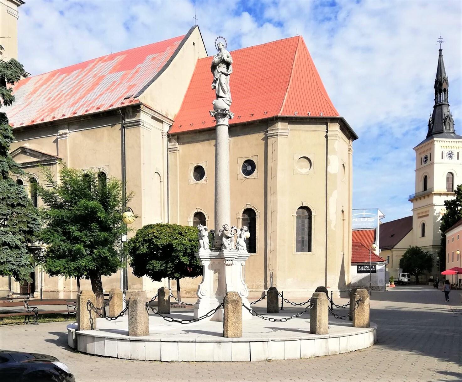 марианская колонна, Пезинок; (c) Катарина Зелинкова