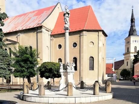 Mariánsky stĺp, Pezinok; (c) Mgr. Katarína Zelinková
