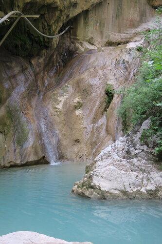 vodopád pri mestečku Nidri