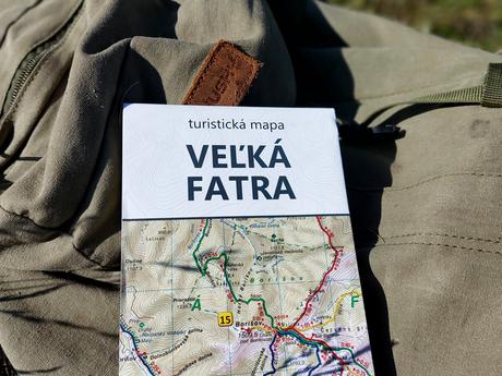 Veľká Fatra - mapa