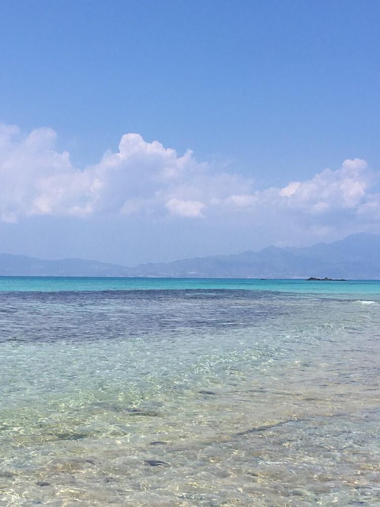 nádherně čisté moře