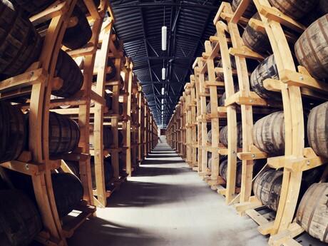 Sklady, v ktorých zreje Nestville Whisky