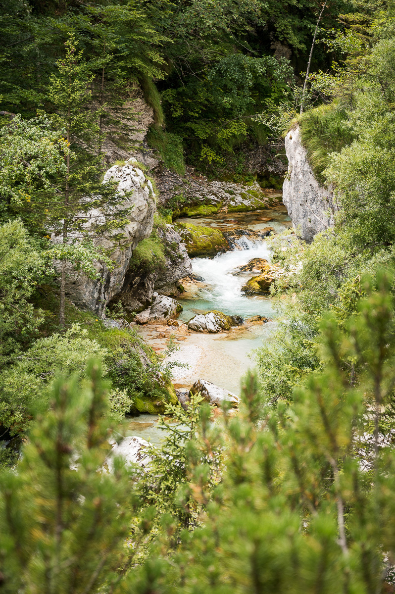 horní tok Soči