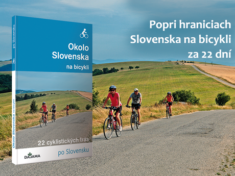 kniha Okolo Slovenska na bicykli