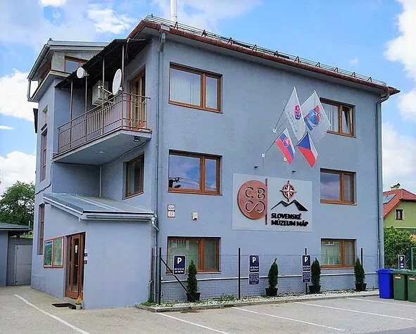 budova Slovenského muzea map