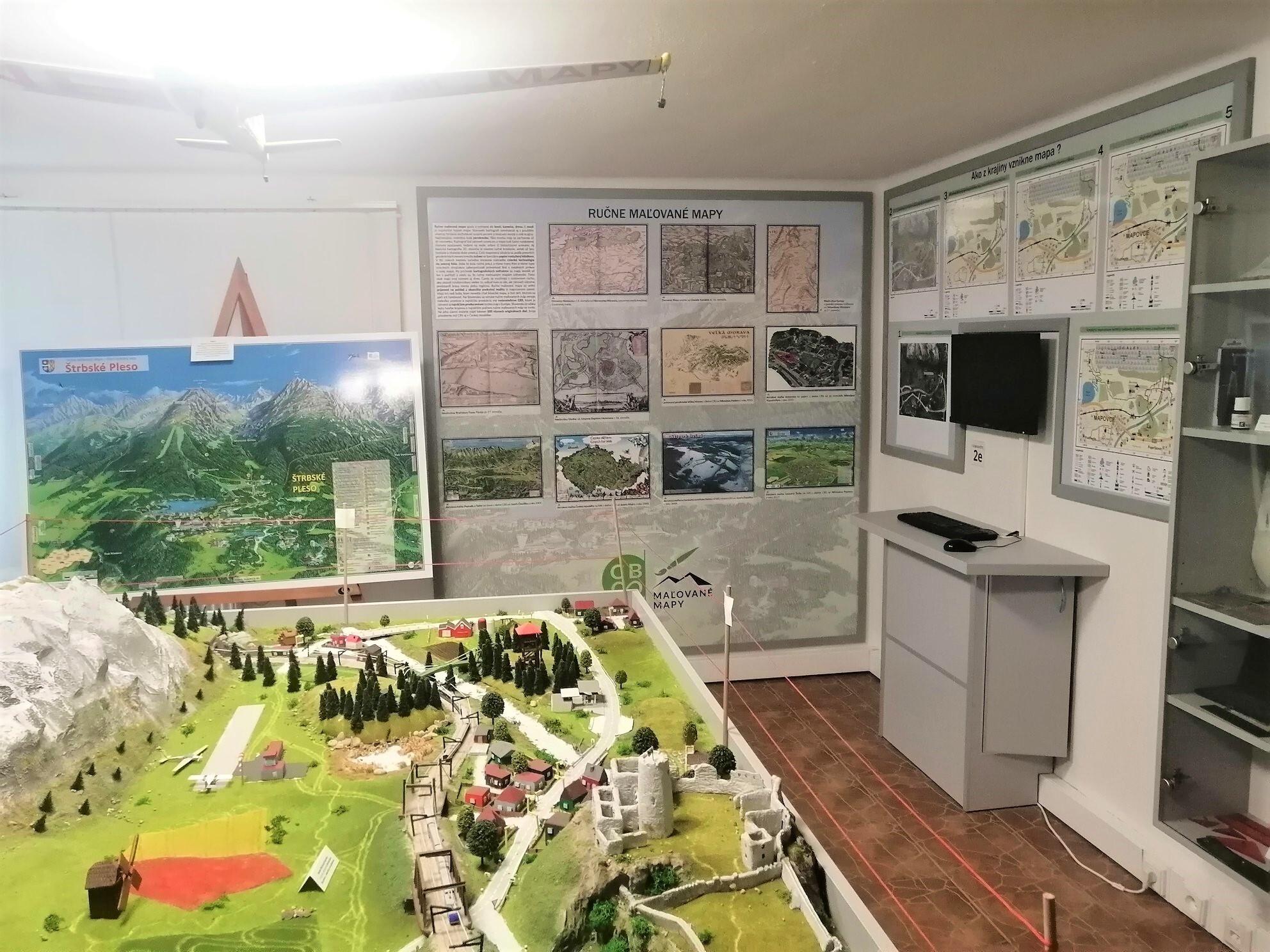 Slovenské muzeum map