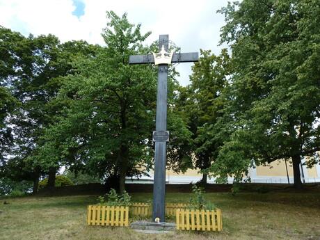 Svätá Hora, čierny kríž