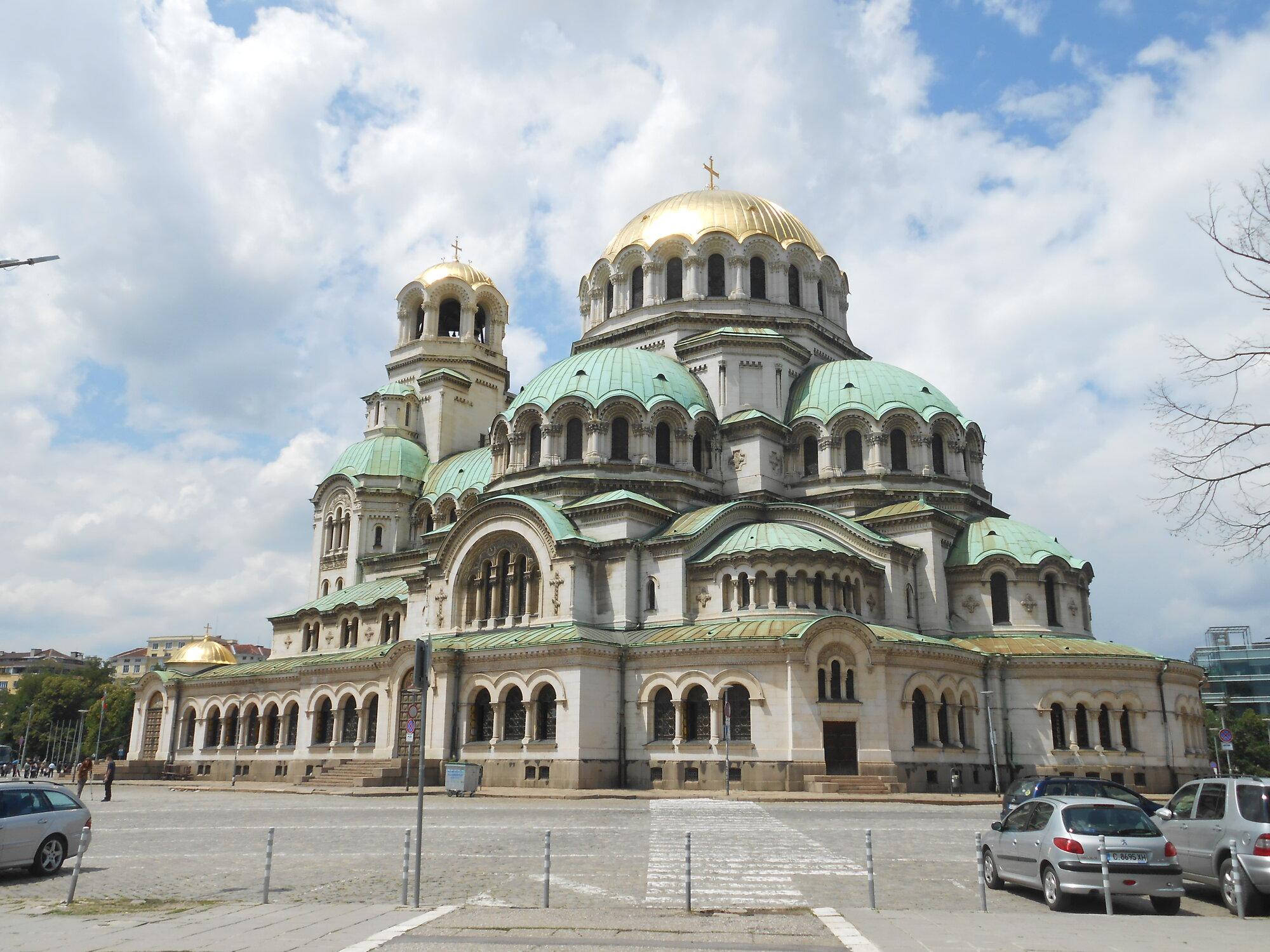 katedrála Alexandra Něvského slouží jako hlavní svatyně patriarchy bulharské pravoslavné církve