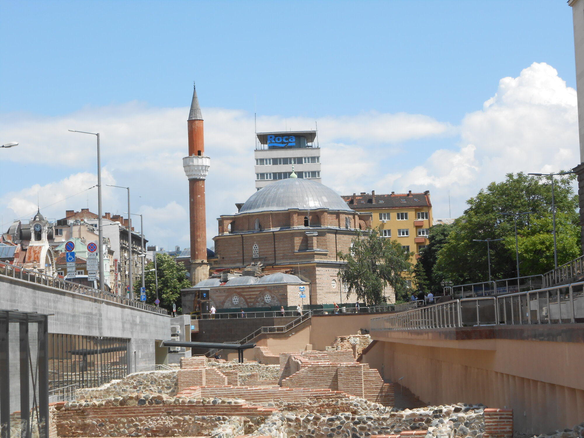 mešita Banja Baši připomíná pozůstatky turecké nadvlády v Bulharsku
