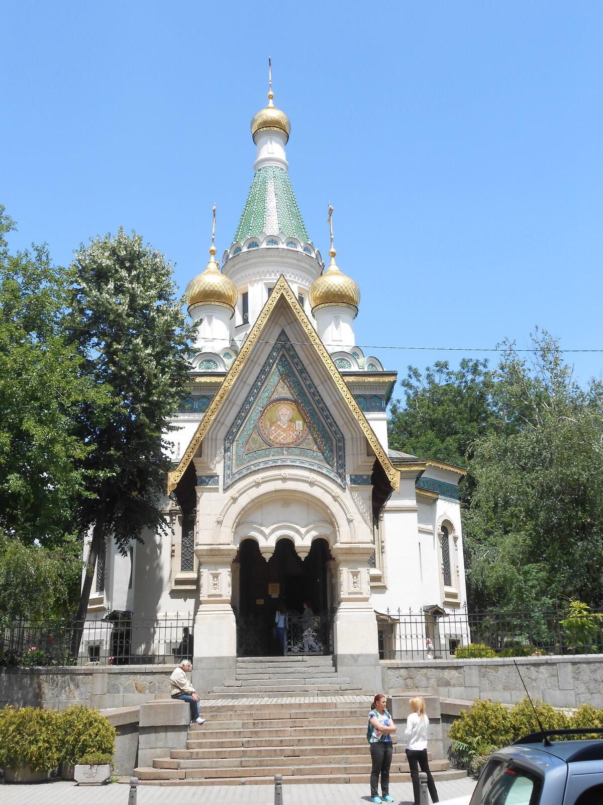pravoslavný chrám sv. Mikuláše Divotvůrce