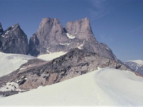 Baffinov ostrov - dominanta národného parku: hora Mt. Asgard