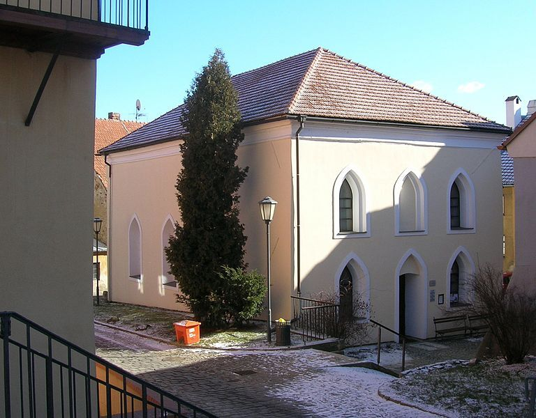синагога в еврейском квартале