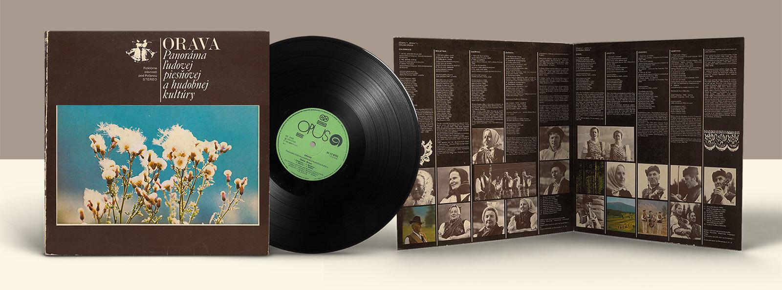 ORAVA – Panoráma lidové písňové a hudební kultury (původní vydání)