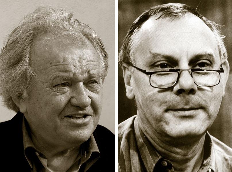 Viliam Ján Gruska (vlevo), Svetozár Stračina (vpravo)