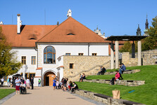 klášterní zahrada a piaristická kolej